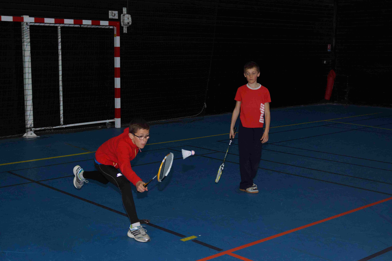 double-badminton nauillé-badminton