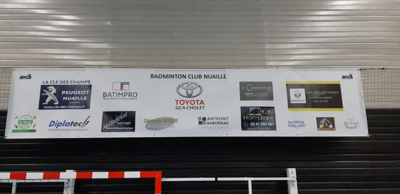 Banderole sponsors