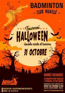 Tournoi d'Halloween @ Domaine Sportif de la Roche Combrée