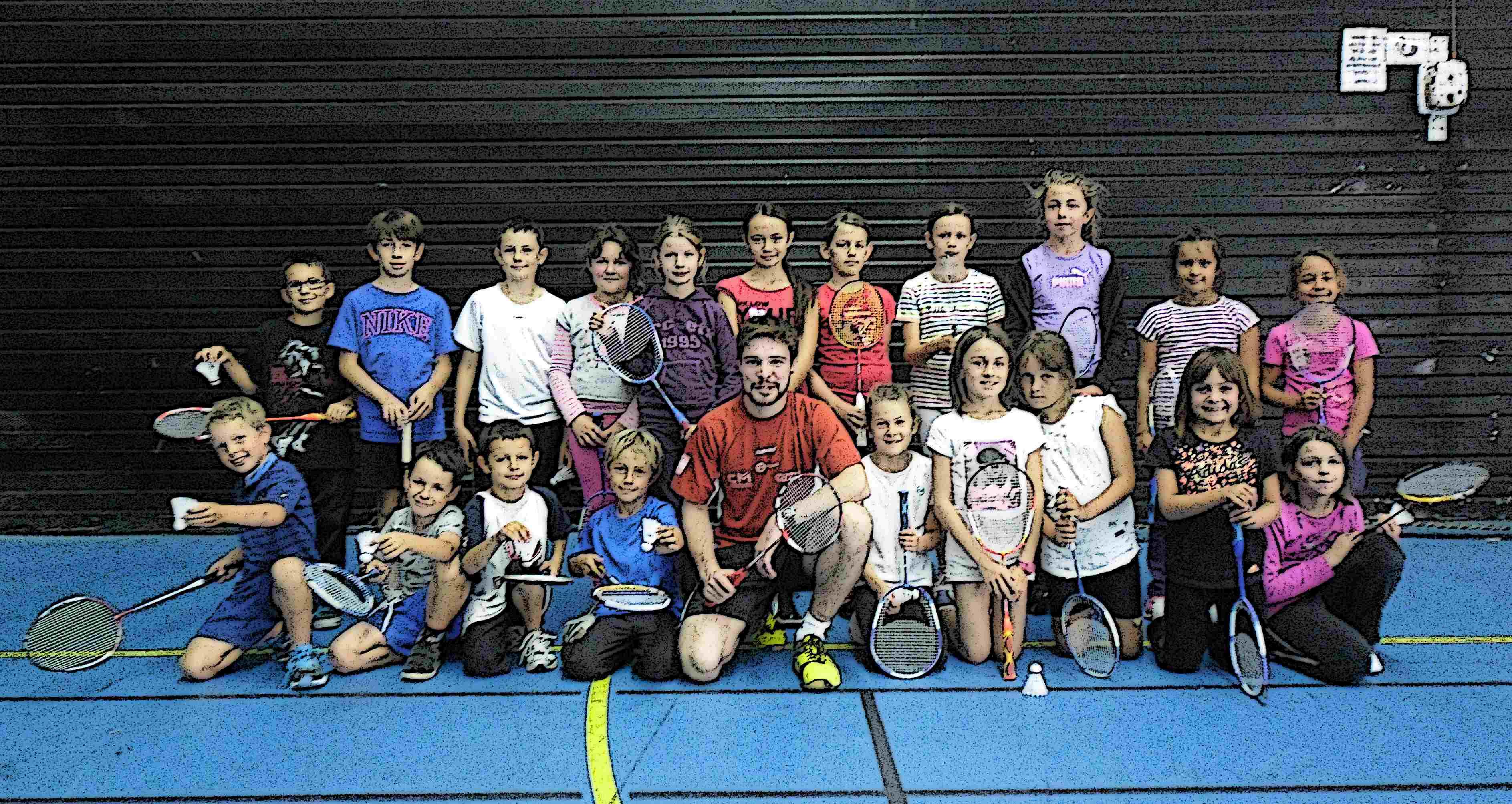 Groupe badminton Nuaillé Ecole-de-bad