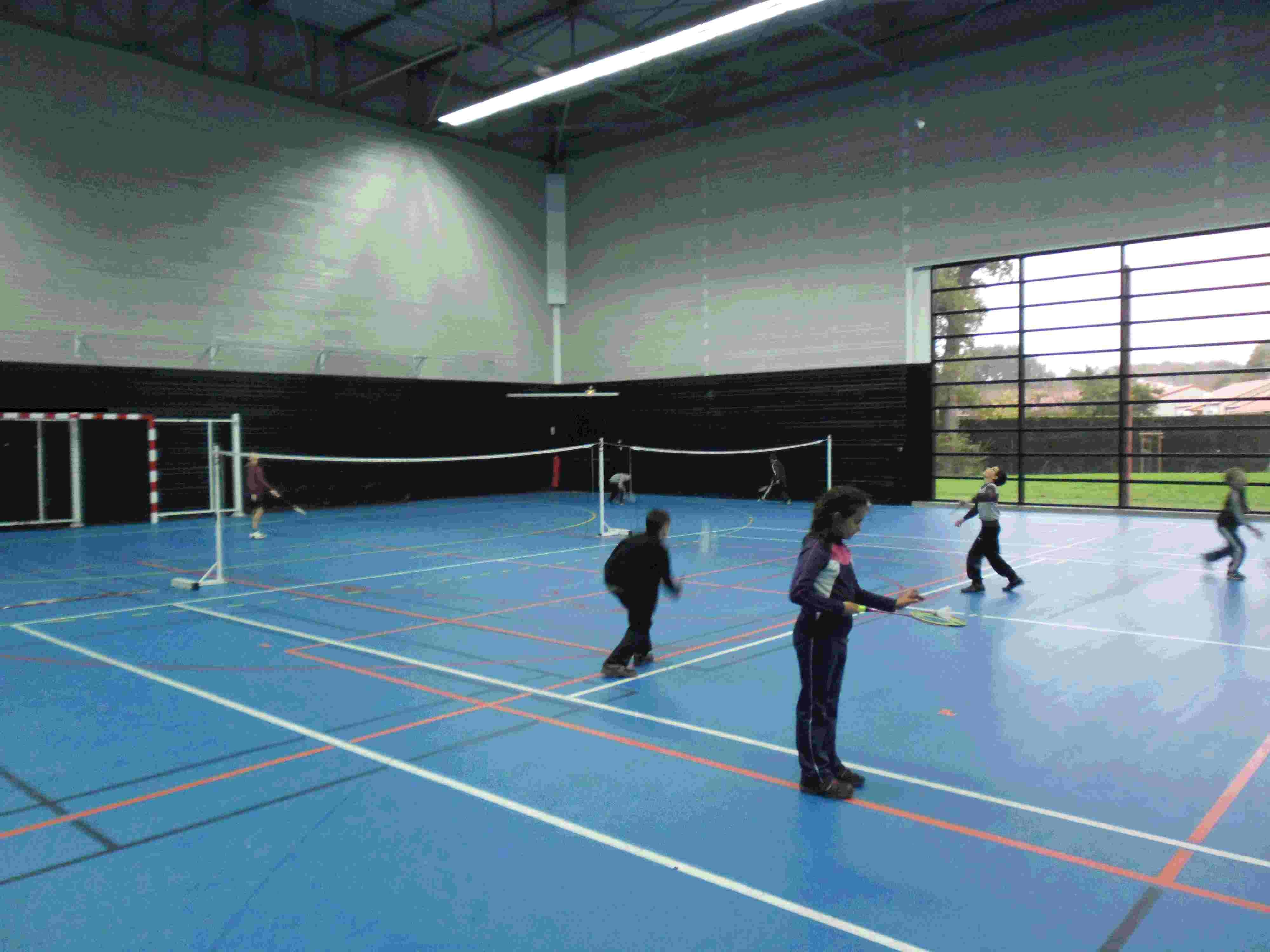 Nuaillé Ecole de bad badminton Cholet vezins Trémentines