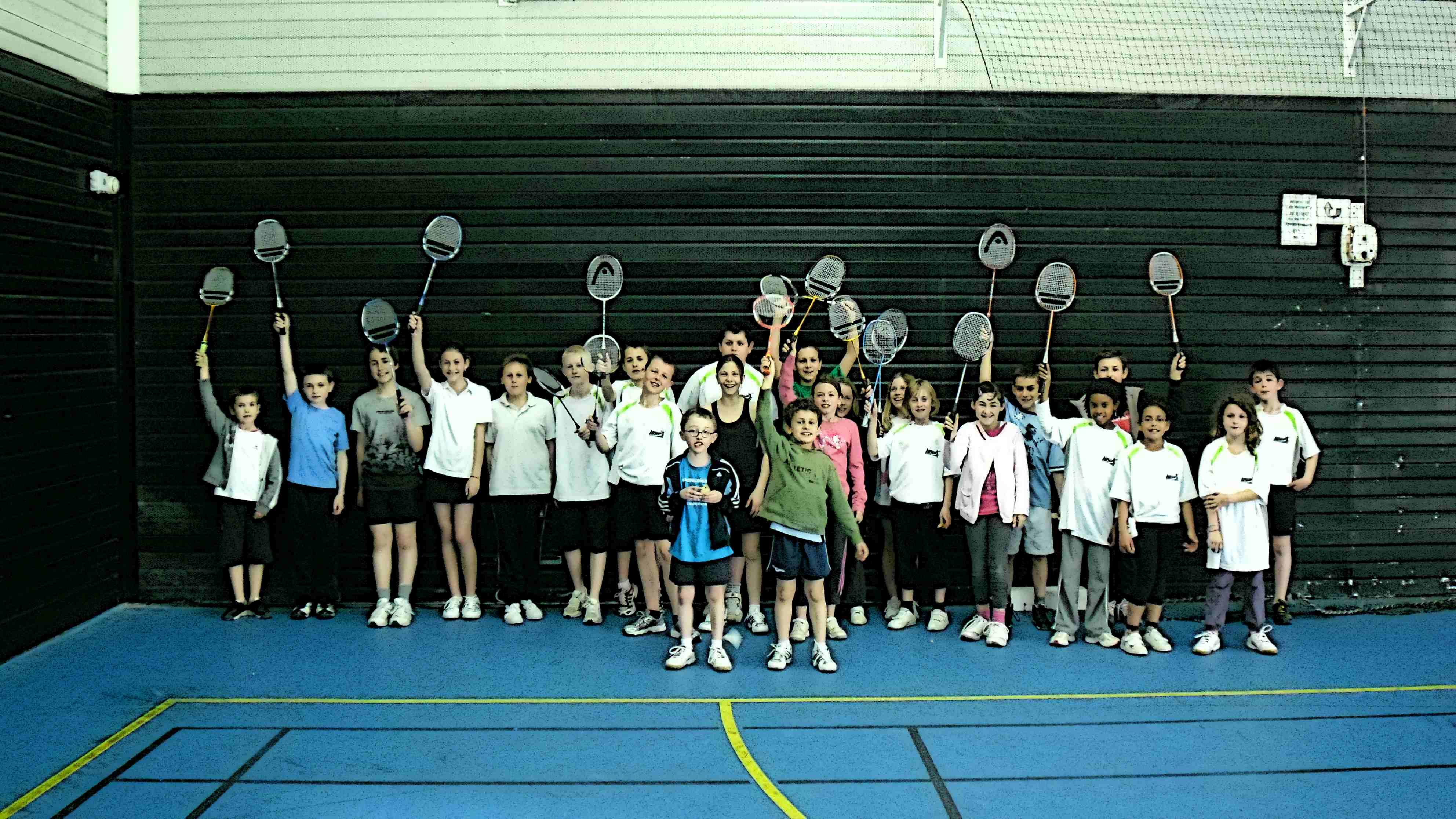 plateau badminton nuaillé cholet-badminton badminton-jeunes-nuaillé