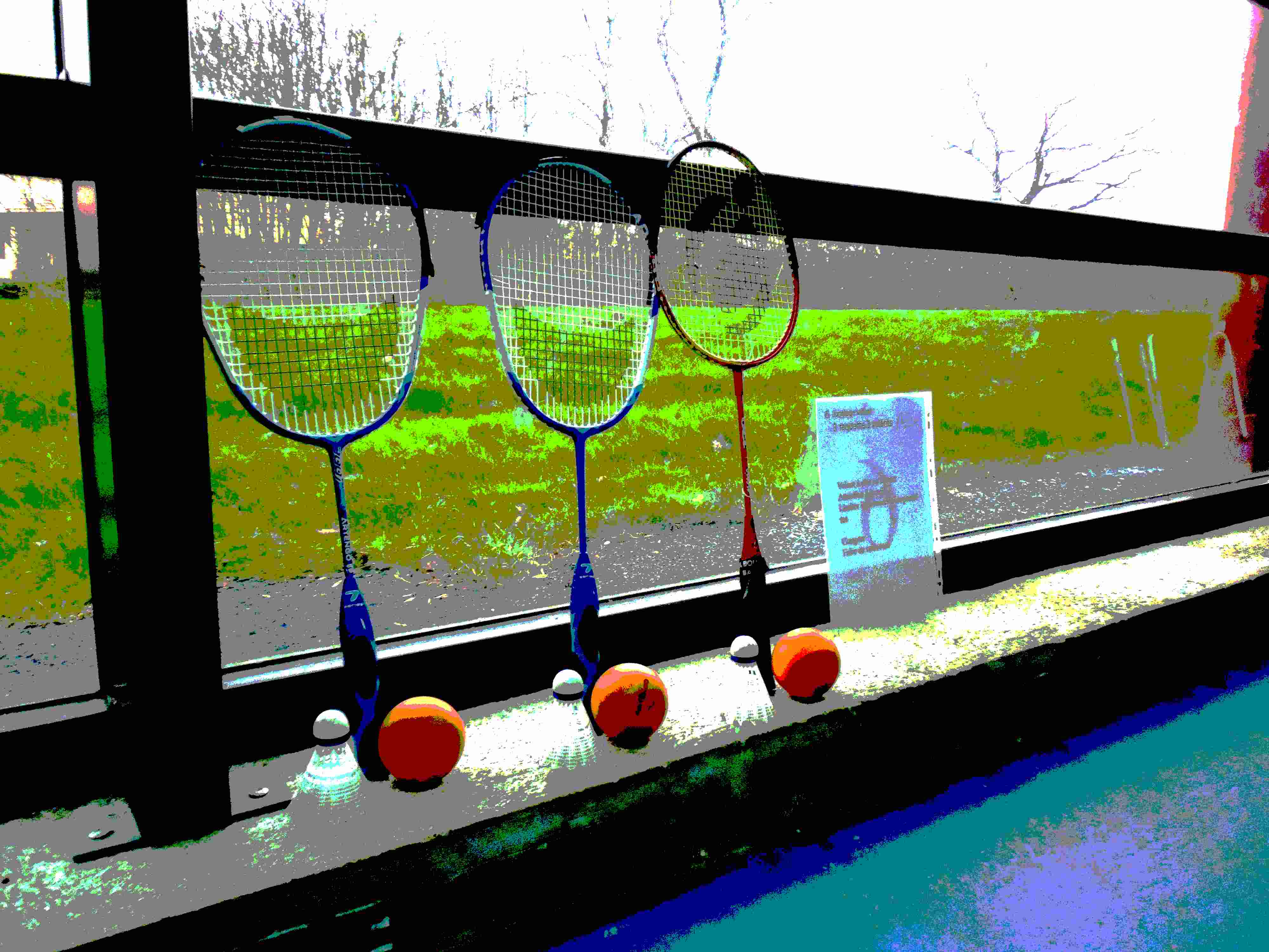 Atelier minibad Nuaillé-badminton minibad